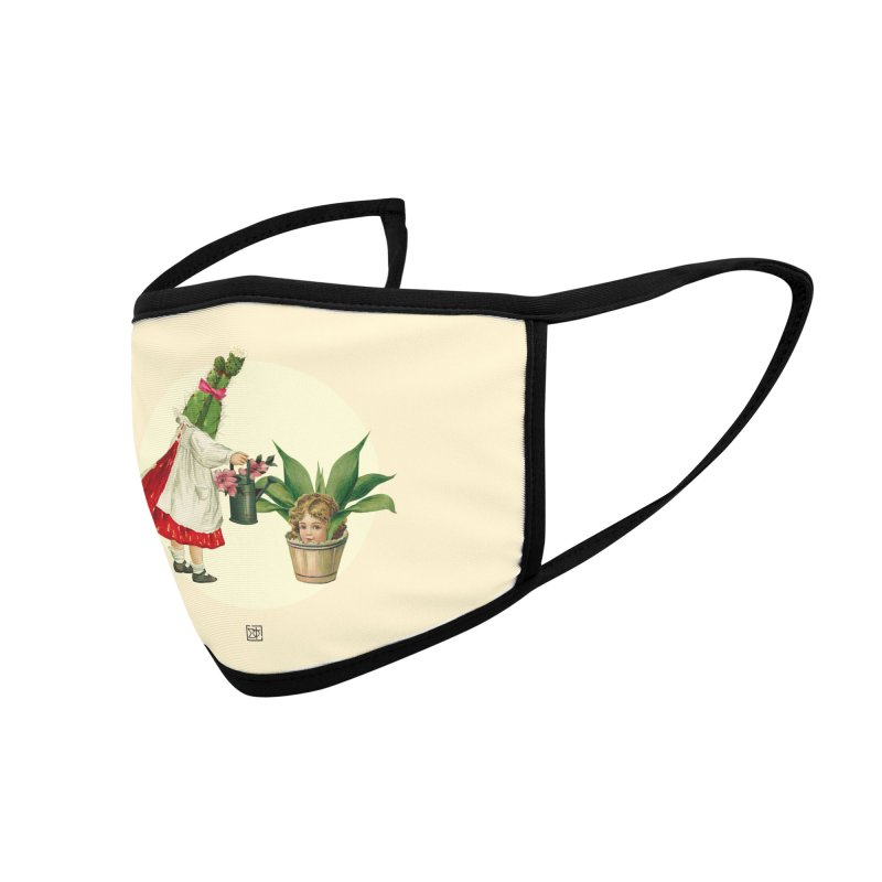 Growing my Head Accessories Face Mask by sigmablade collage