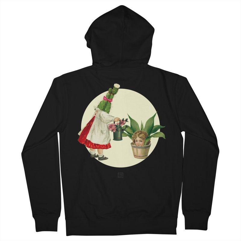 Growing my Head Men's Zip-Up Hoody by sigmablade collage