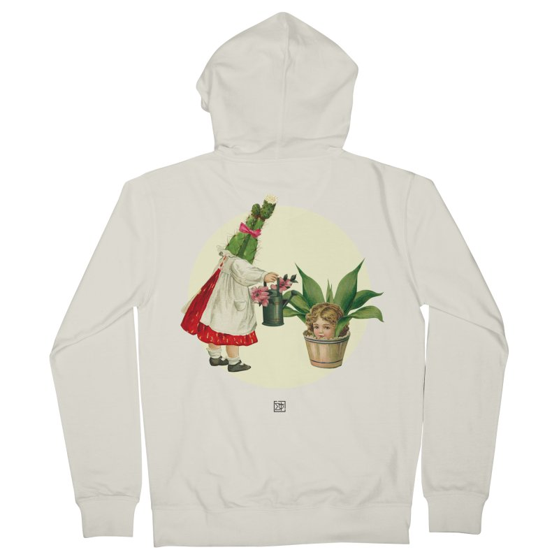 Growing my Head Men's French Terry Zip-Up Hoody by sigmablade collage