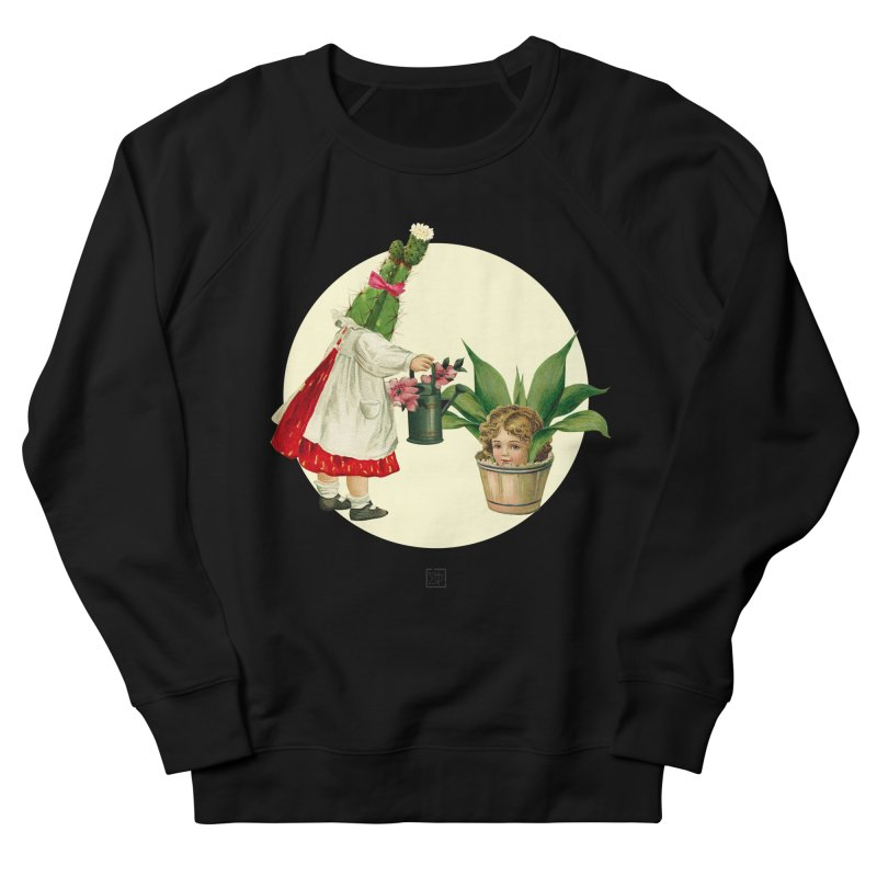 Growing my Head Women's French Terry Sweatshirt by sigmablade collage