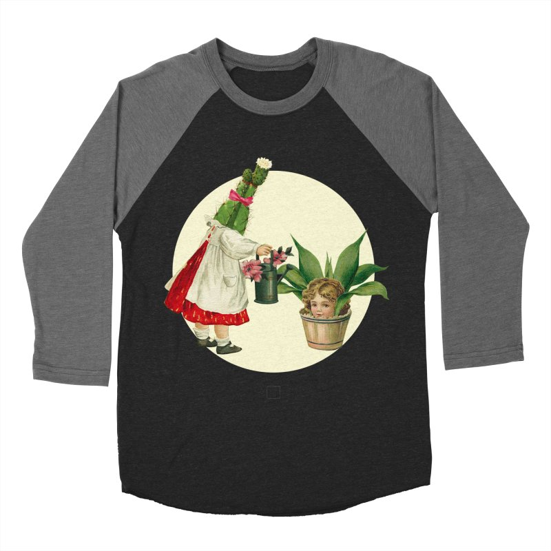 Growing my Head Women's Baseball Triblend Longsleeve T-Shirt by sigmablade collage