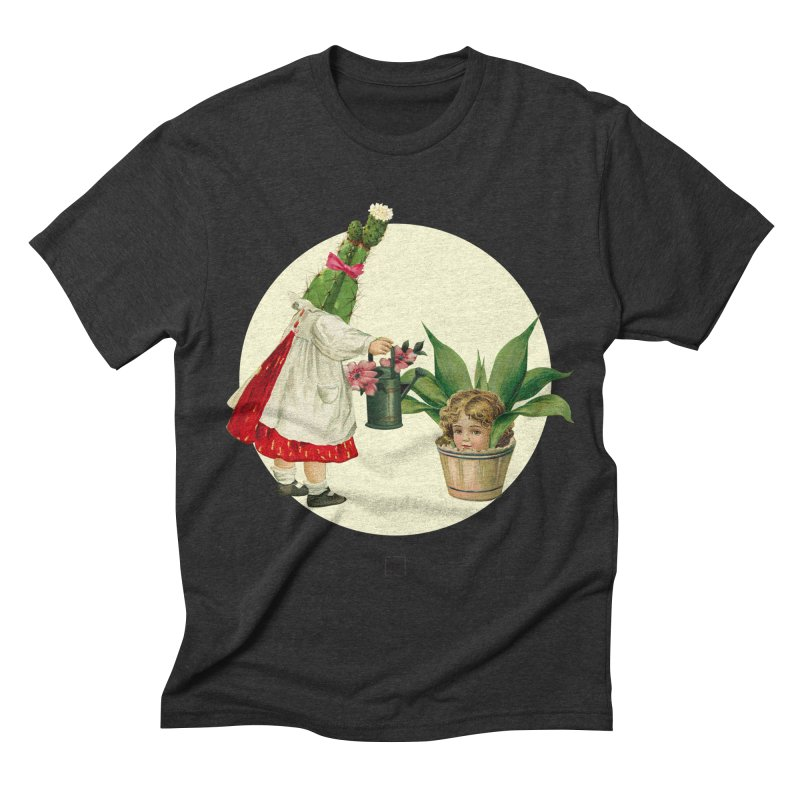 Growing my Head Men's Triblend T-shirt by sigmablade collage