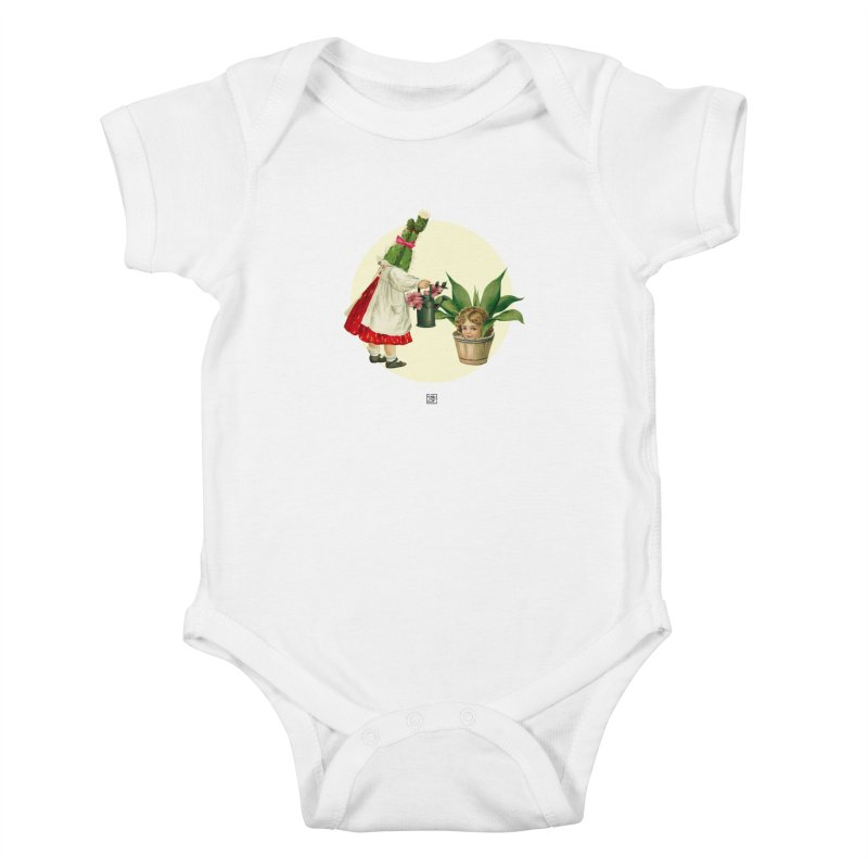 Growing my Head Kids Baby Bodysuit by sigmablade collage