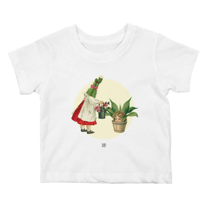 Growing my Head Kids Baby T-Shirt by sigmablade collage