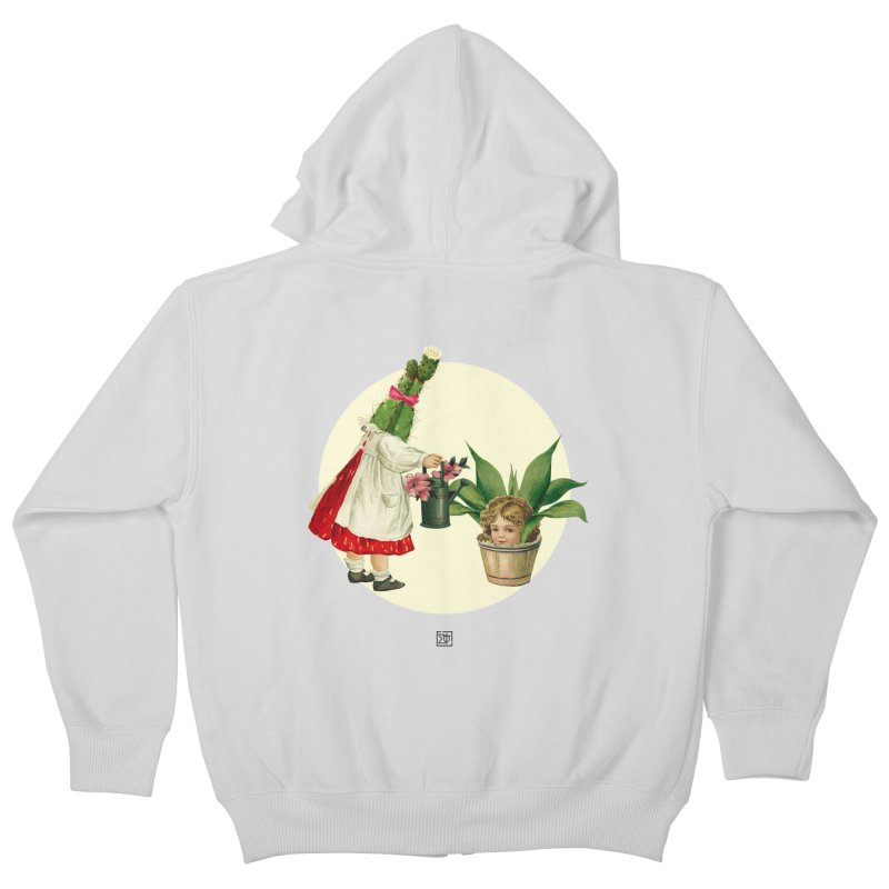 Growing my Head Kids Zip-Up Hoody by sigmablade collage