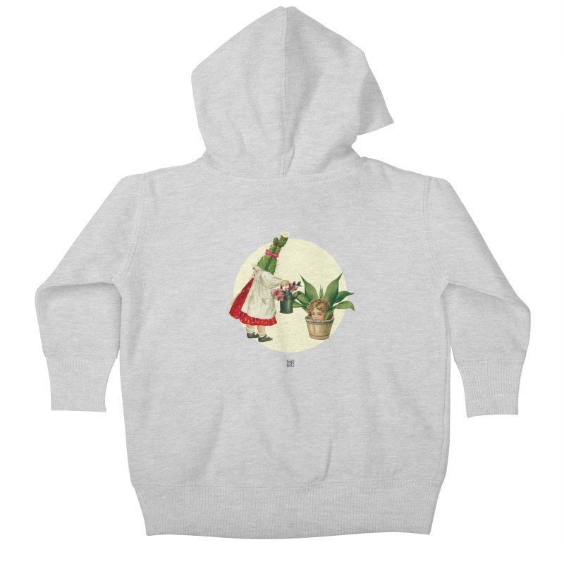 Growing my Head Kids Baby Zip-Up Hoody by sigmablade collage