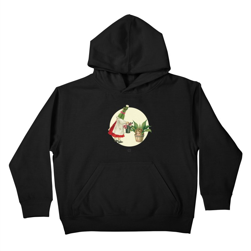 Growing my Head Kids Pullover Hoody by sigmablade collage