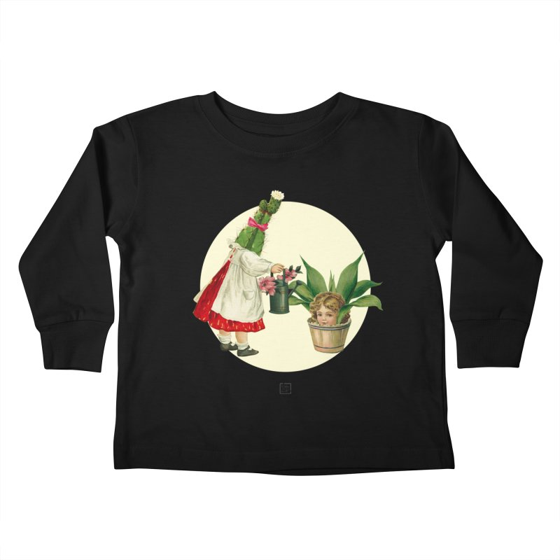 Growing my Head Kids Toddler Longsleeve T-Shirt by sigmablade collage