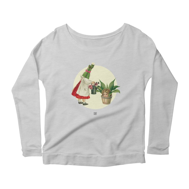 Growing my Head Women's Scoop Neck Longsleeve T-Shirt by sigmablade collage