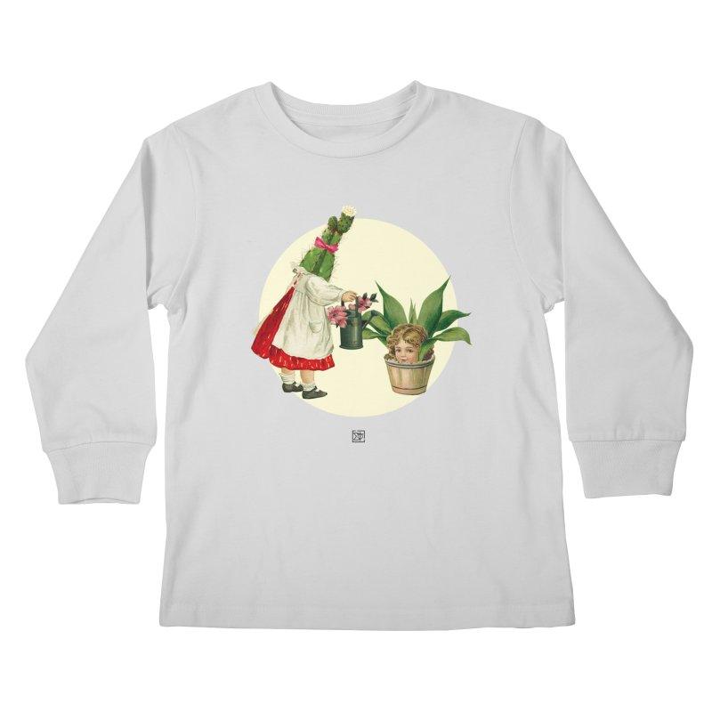 Growing my Head Kids Longsleeve T-Shirt by sigmablade collage