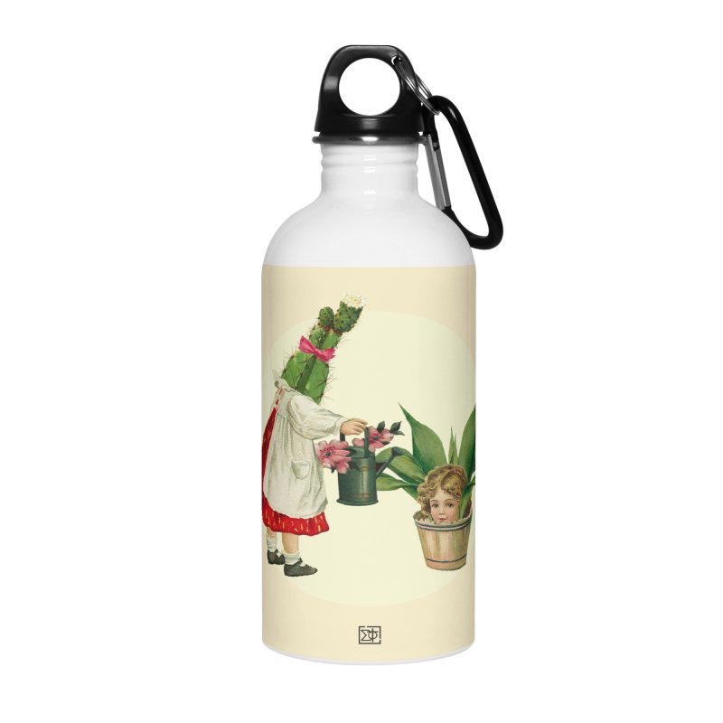 Growing my Head Accessories Water Bottle by sigmablade collage