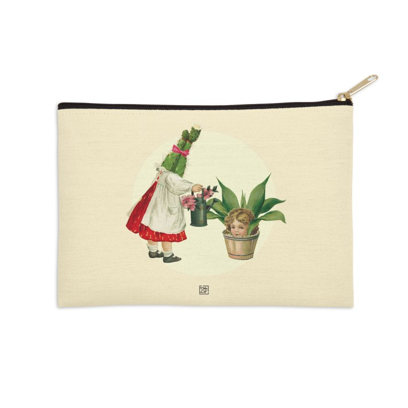 Growing my Head Accessories Zip Pouch by sigmablade collage