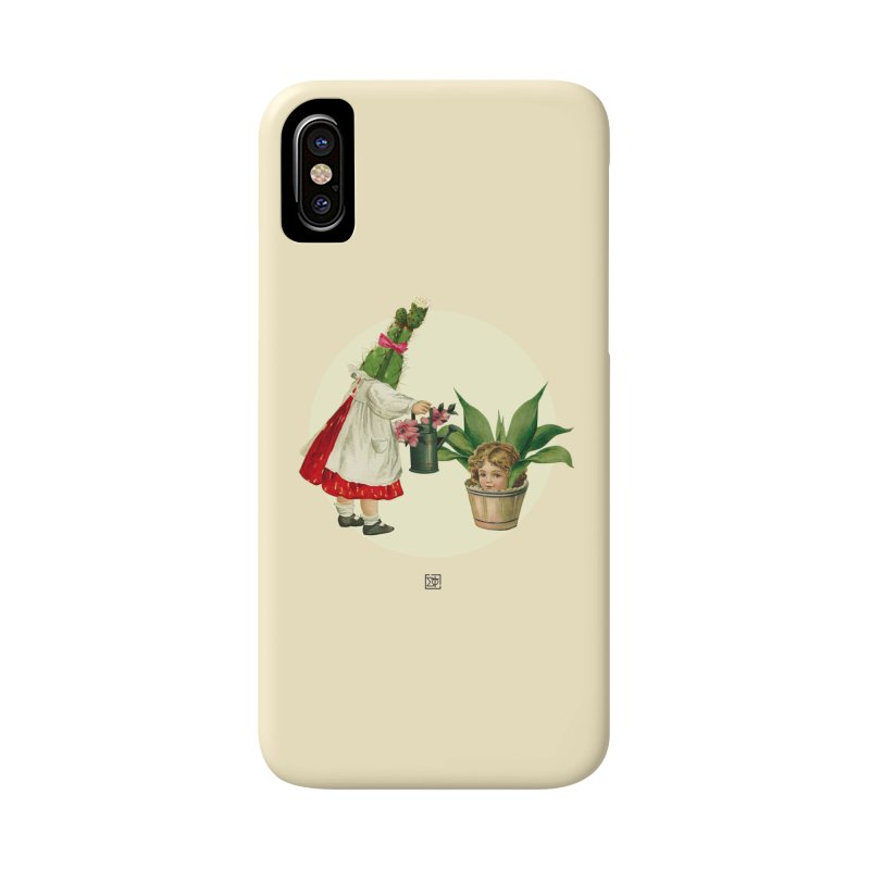 Growing my Head Accessories Phone Case by sigmablade collage