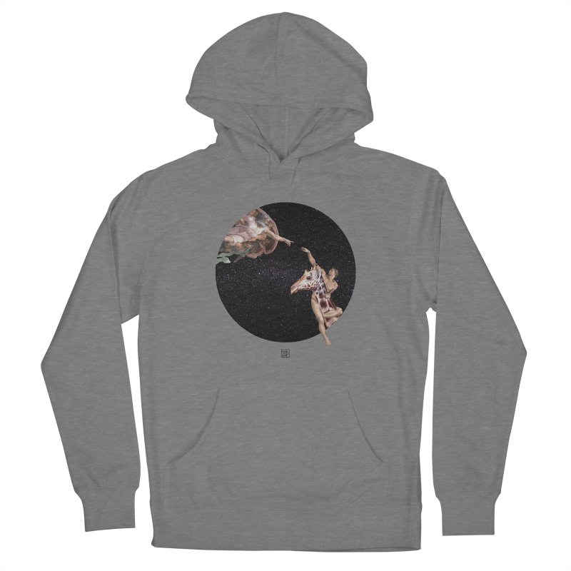 God Creates Adam Women's Pullover Hoody by sigmablade collage