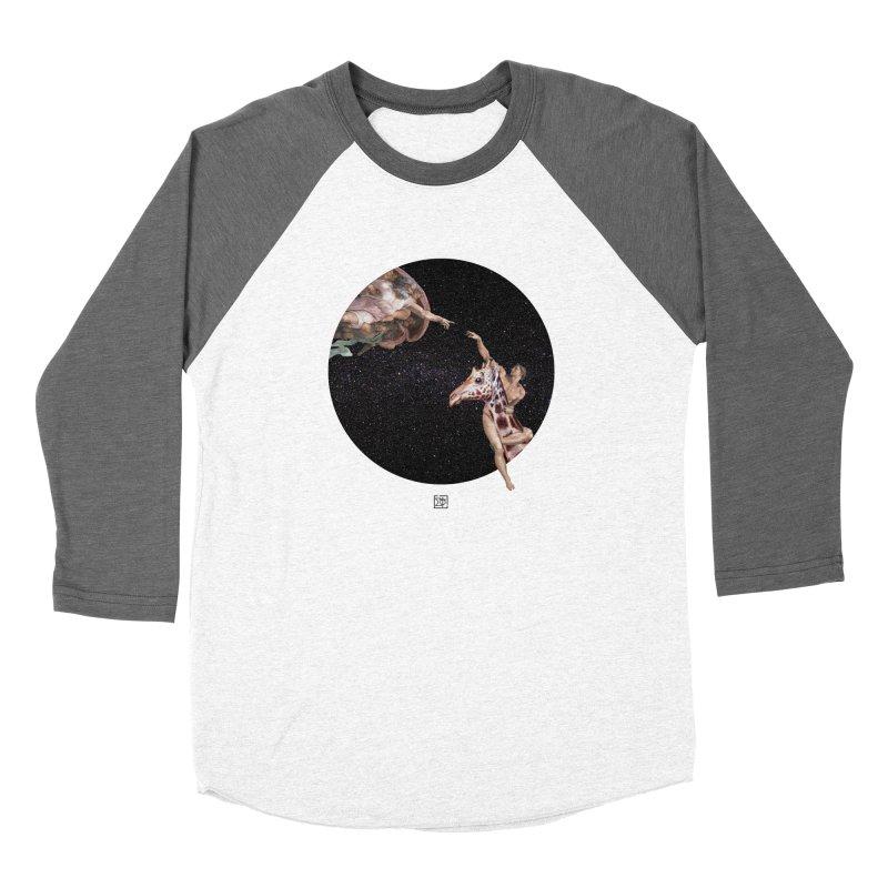 God Creates Adam Women's Longsleeve T-Shirt by sigmablade collage
