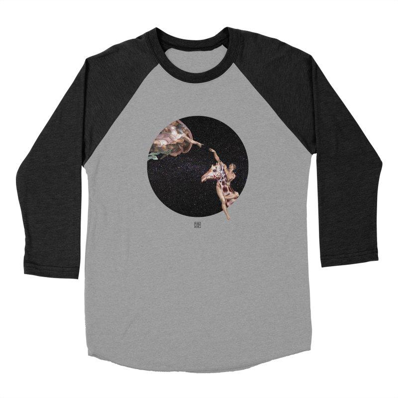 God Creates Adam Men's Longsleeve T-Shirt by sigmablade collage