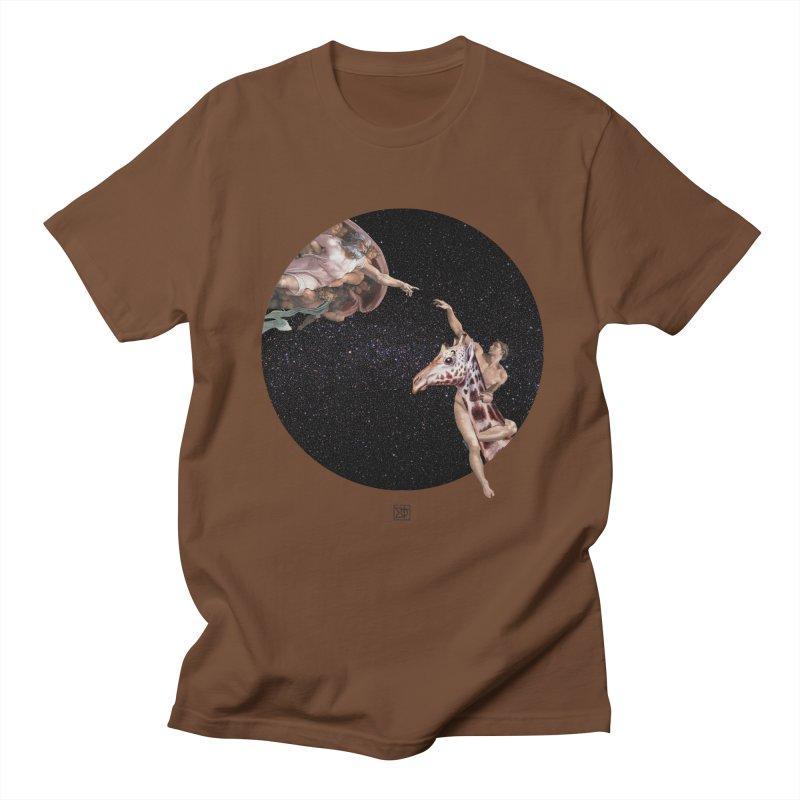 God Creates Adam Women's Unisex T-Shirt by sigmablade collage