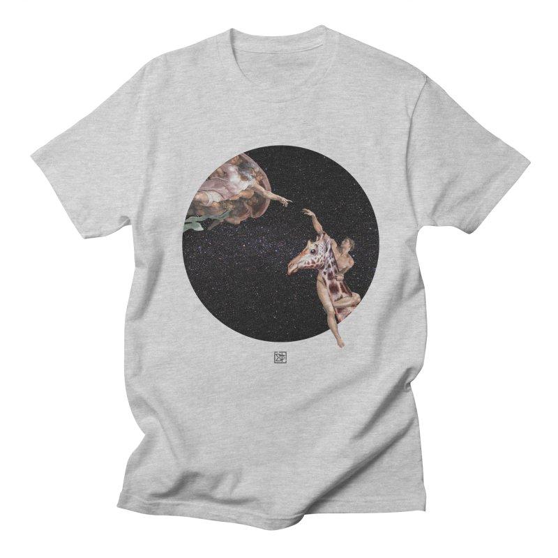 God Creates Adam Men's T-shirt by sigmablade collage