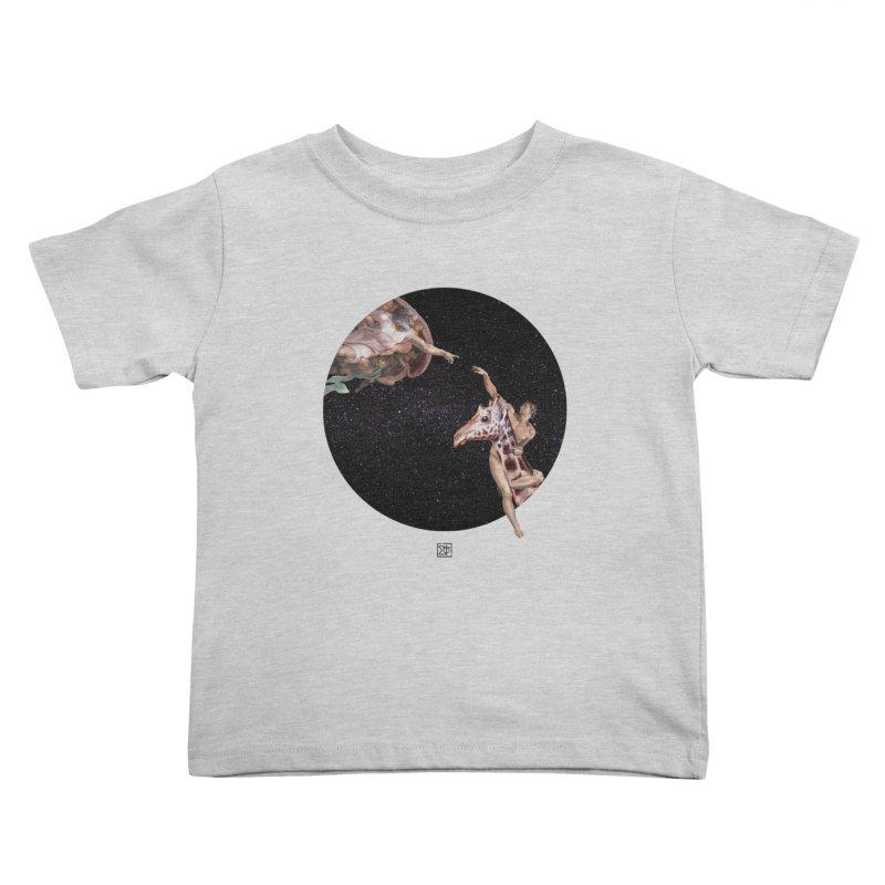 God Creates Adam Kids Toddler T-Shirt by sigmablade collage