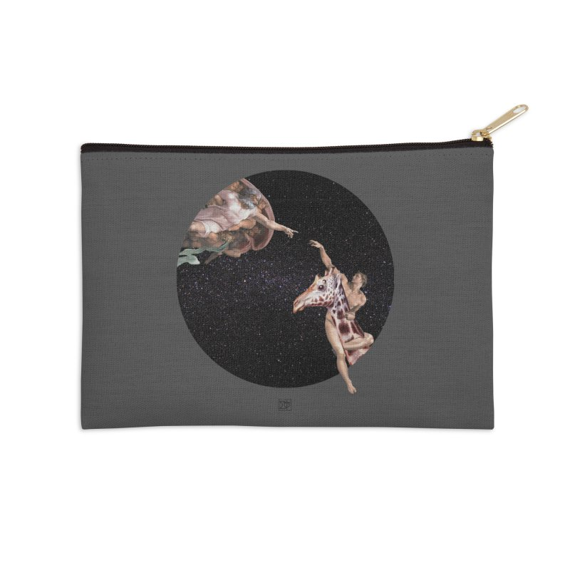 God Creates Adam Accessories Zip Pouch by sigmablade collage