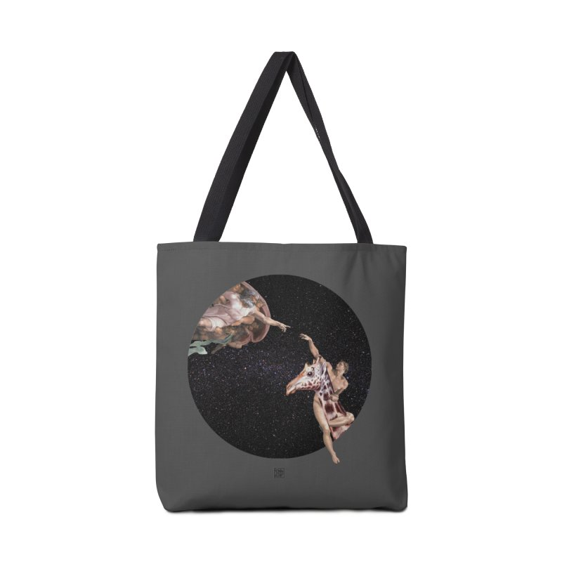 God Creates Adam Accessories Tote Bag Bag by sigmablade collage