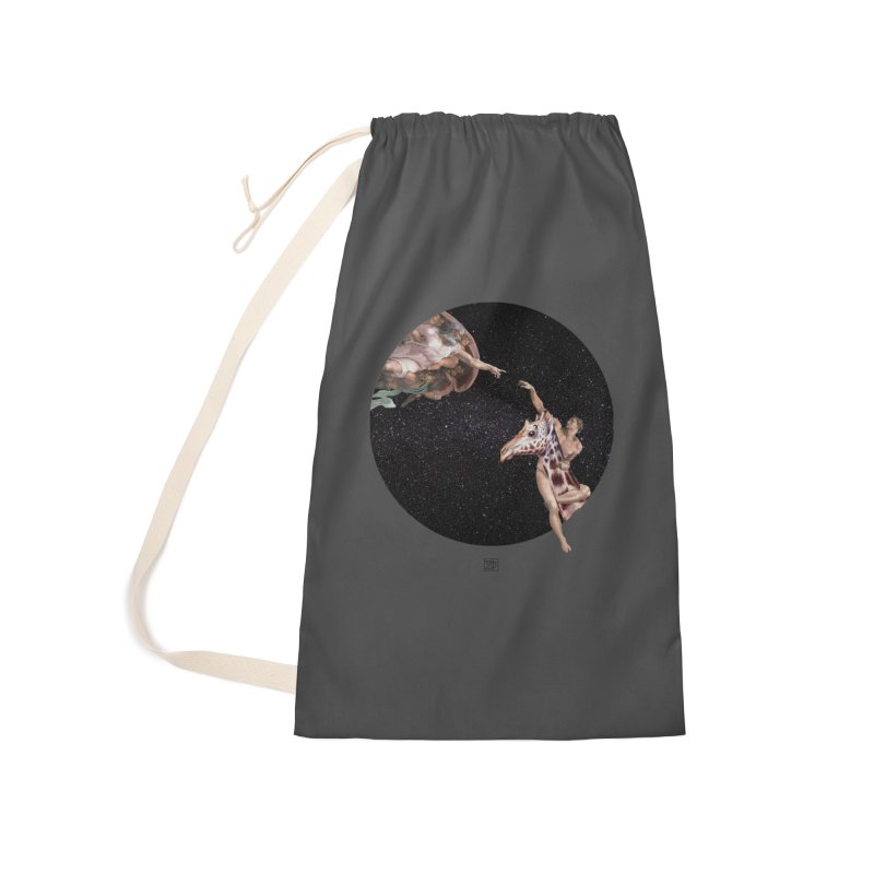 God Creates Adam Accessories Bag by sigmablade collage