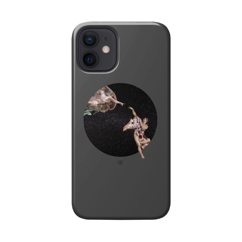 God Creates Adam Accessories Phone Case by sigmablade collage