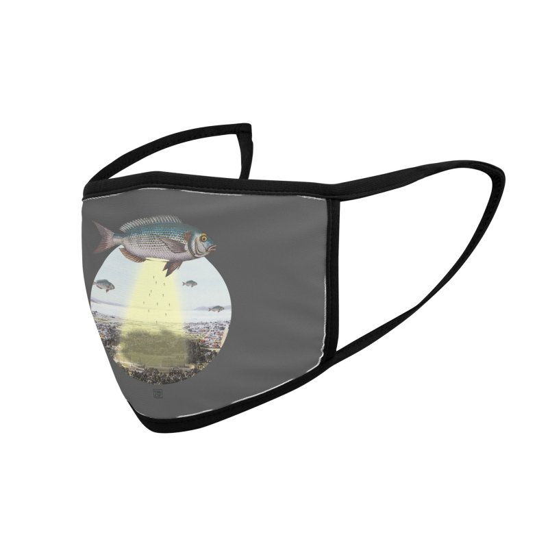 A Fishy Abduction Accessories Face Mask by sigmablade collage