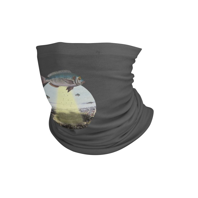 A Fishy Abduction Accessories Neck Gaiter by sigmablade collage