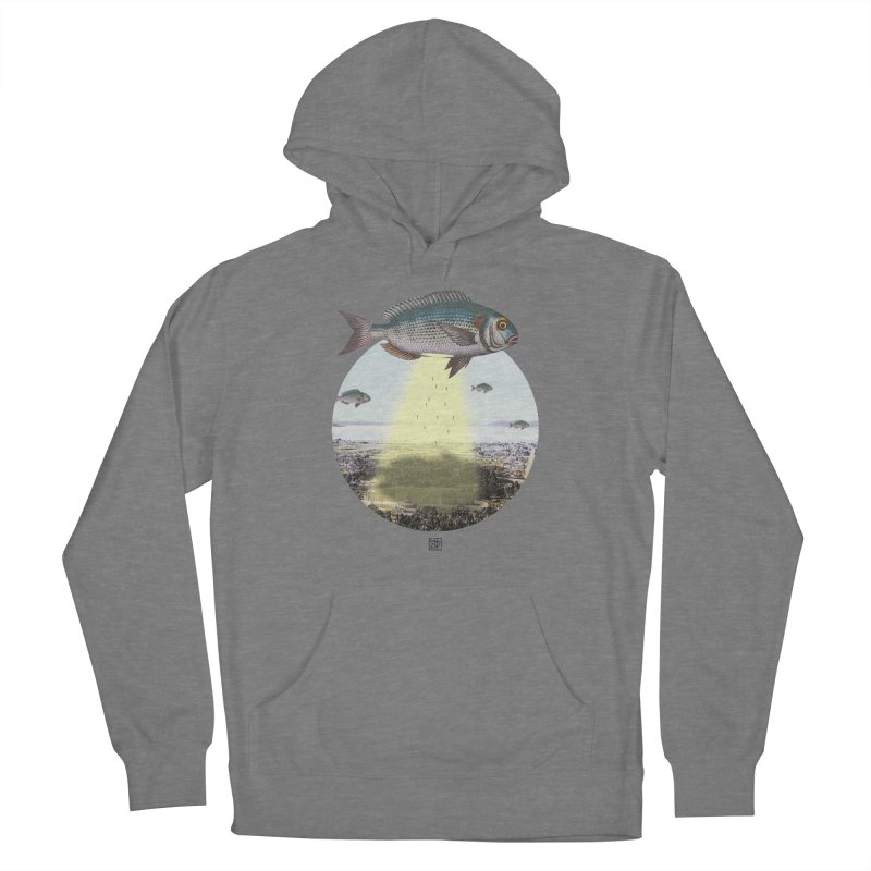 A Fishy Abduction Women's Pullover Hoody by sigmablade collage