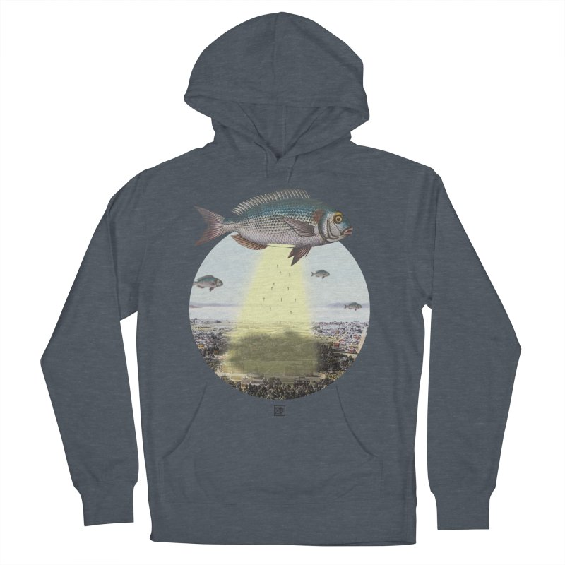 A Fishy Abduction Men's Pullover Hoody by sigmablade collage