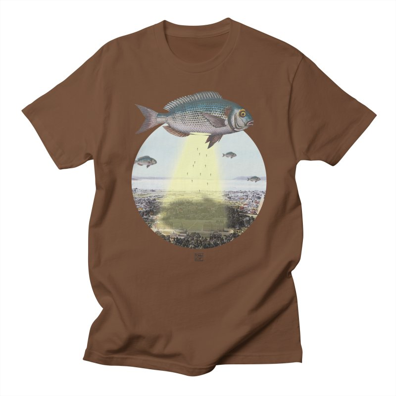 A Fishy Abduction Women's Unisex T-Shirt by sigmablade collage