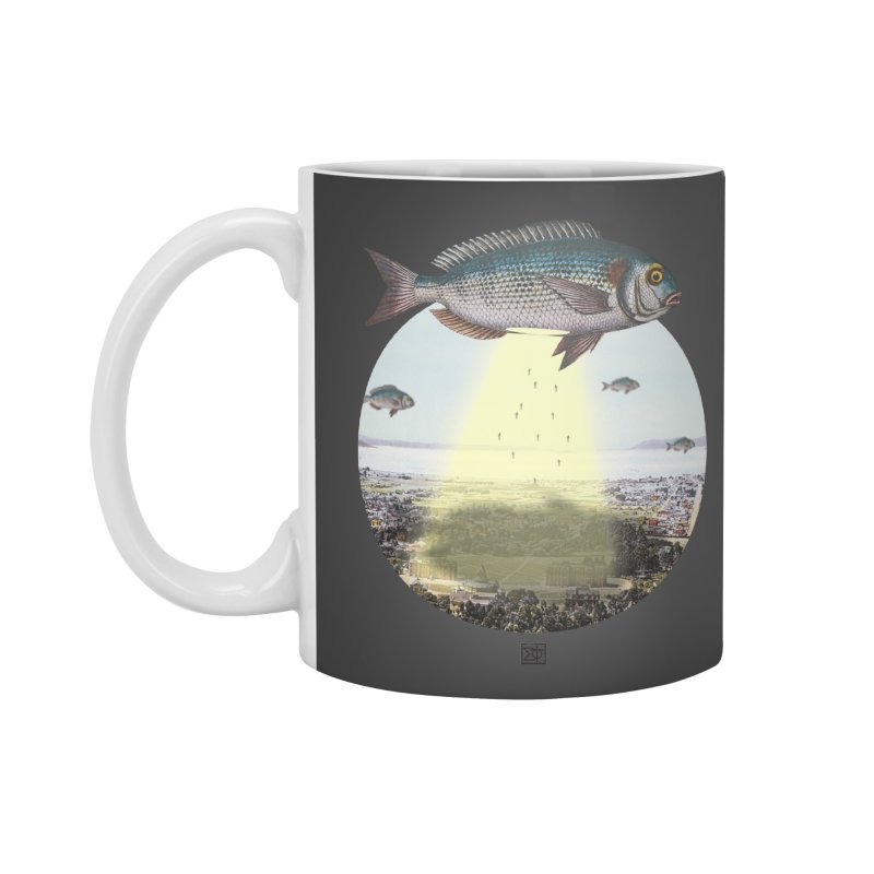 A Fishy Abduction Accessories Mug by sigmablade collage
