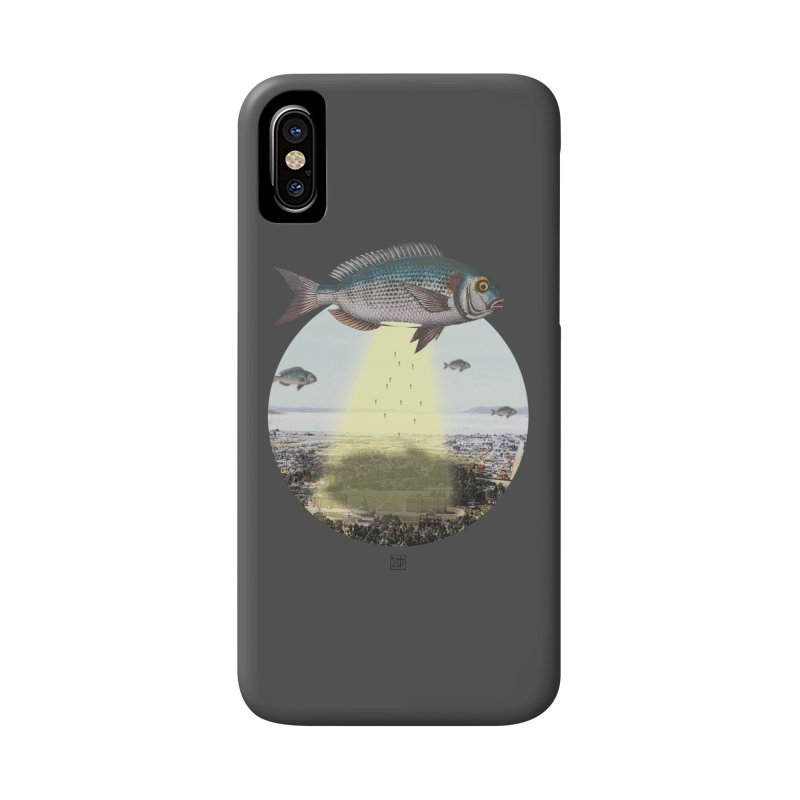A Fishy Abduction Accessories Phone Case by sigmablade collage