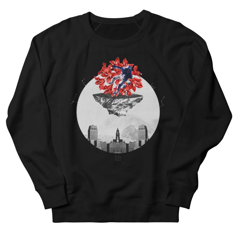 Tangled and Withering Men's French Terry Sweatshirt by sigmablade collage