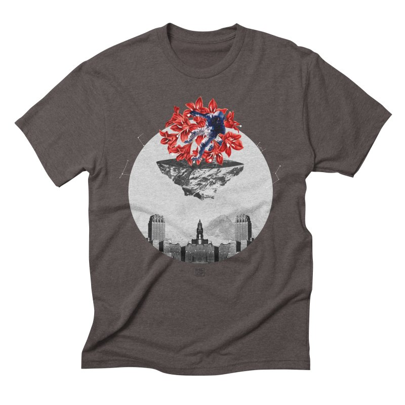 Tangled and Withering Men's Triblend T-Shirt by sigmablade collage