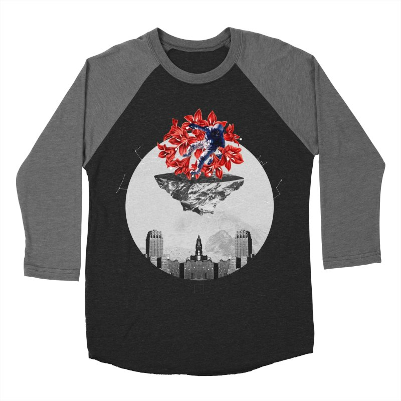 Tangled and Withering Women's Baseball Triblend Longsleeve T-Shirt by sigmablade collage