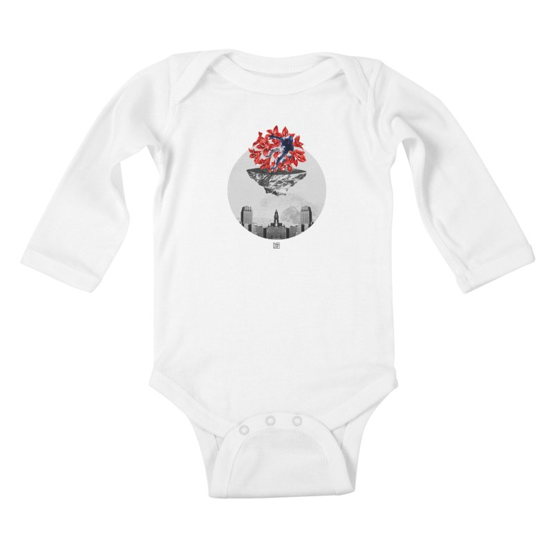 Tangled and Withering Kids Baby Longsleeve Bodysuit by sigmablade collage