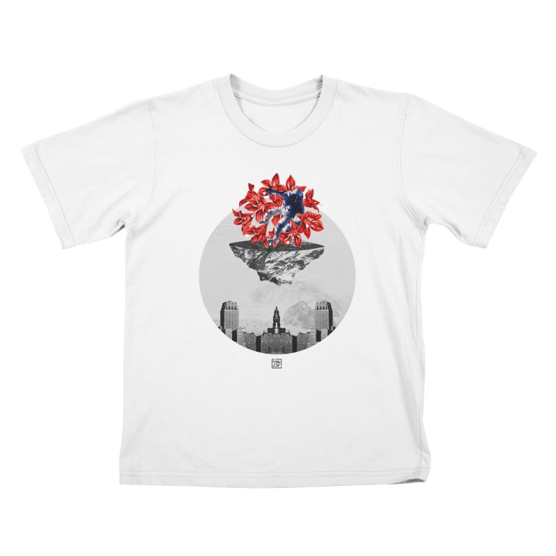 Tangled and Withering Kids T-shirt by sigmablade collage