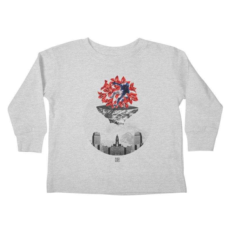 Tangled and Withering Kids Toddler Longsleeve T-Shirt by sigmablade collage