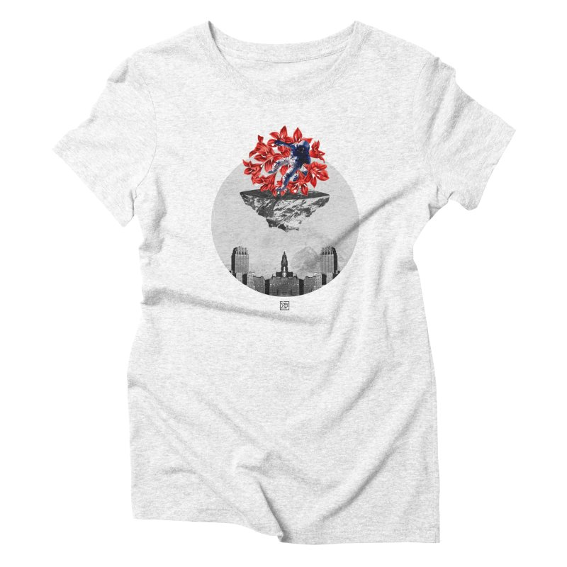 Tangled and Withering Women's Triblend T-shirt by sigmablade collage