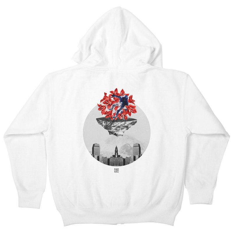 Tangled and Withering Kids Zip-Up Hoody by sigmablade collage
