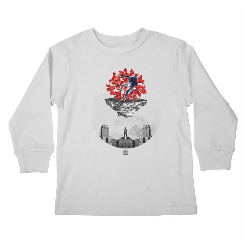 Tangled and Withering Kids Longsleeve T-Shirt by sigmablade collage