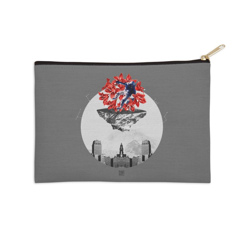Tangled and Withering Accessories Zip Pouch by sigmablade collage