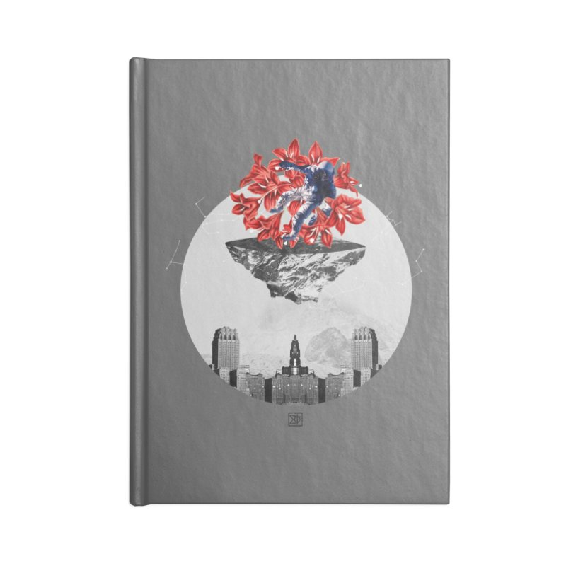 Tangled and Withering Accessories Blank Journal Notebook by sigmablade collage