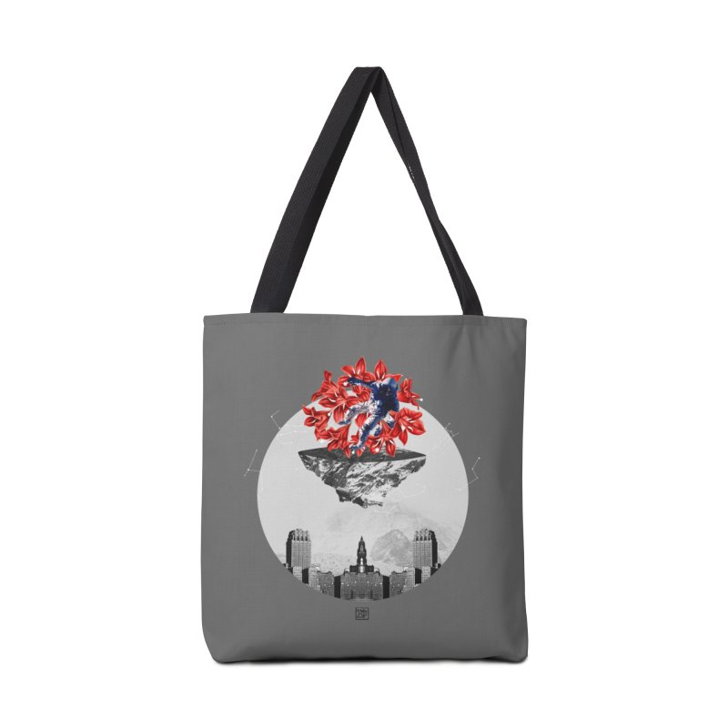 Tangled and Withering Accessories Tote Bag Bag by sigmablade collage