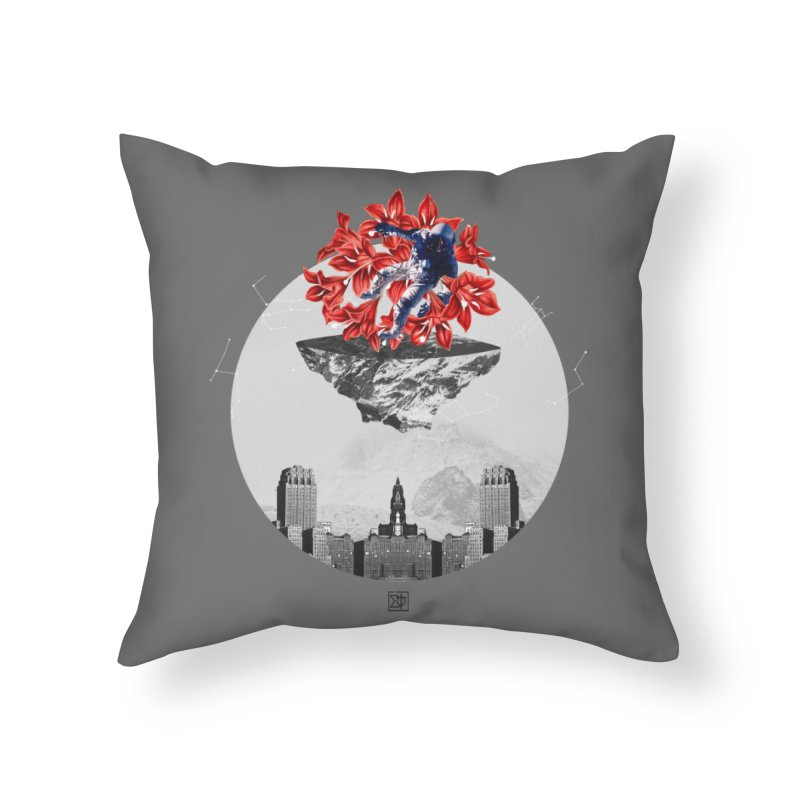 Tangled and Withering Home Throw Pillow by sigmablade collage