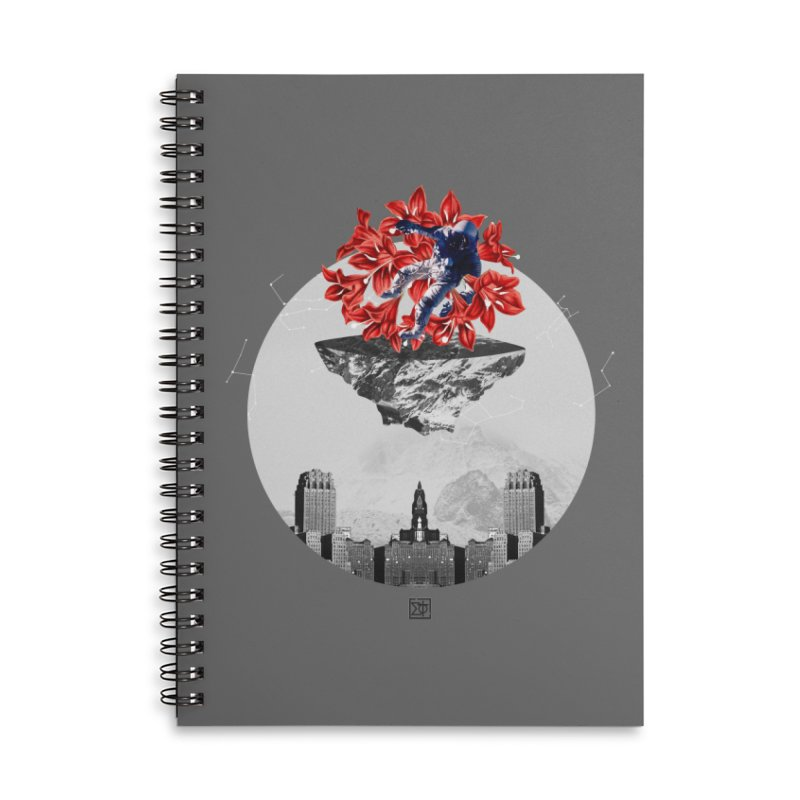 Tangled and Withering Accessories Lined Spiral Notebook by sigmablade collage