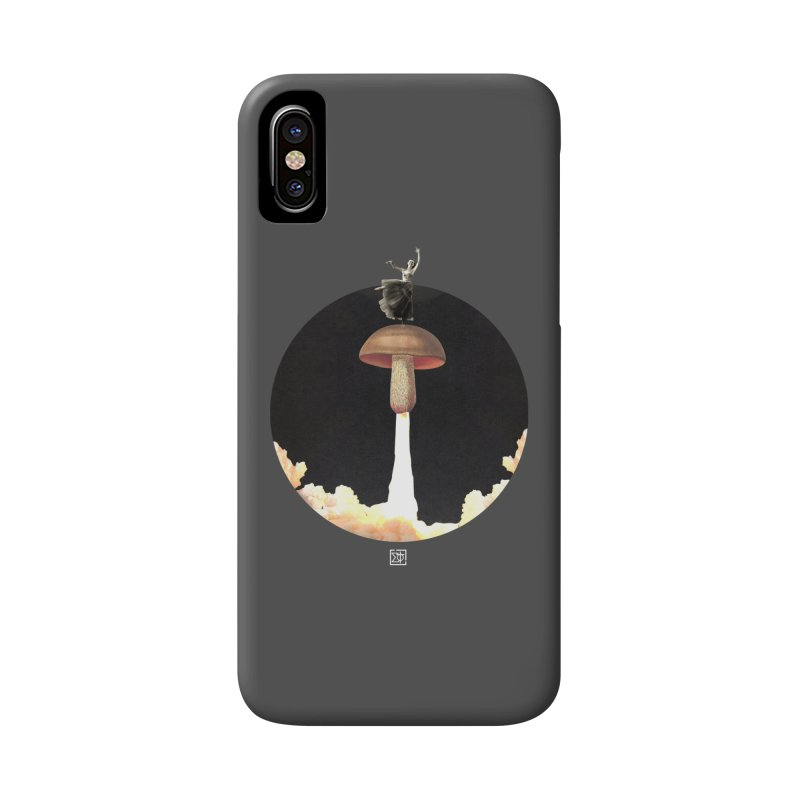 Mushroom Rocket Accessories Phone Case by sigmablade collage