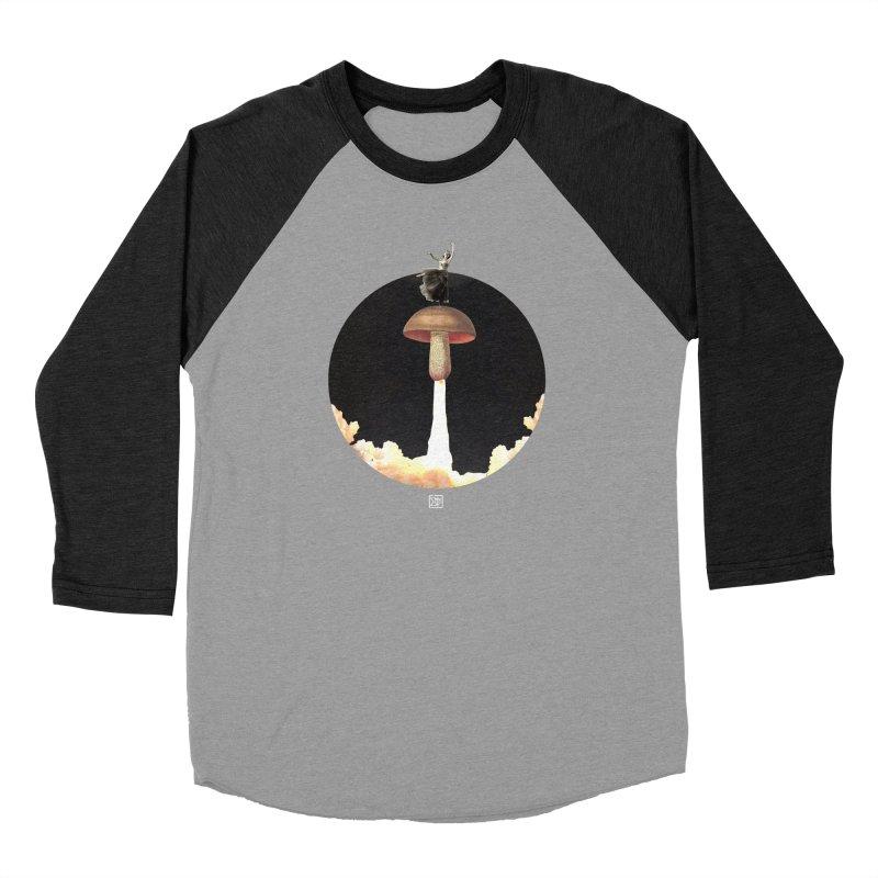 Mushroom Rocket Men's Longsleeve T-Shirt by sigmablade collage